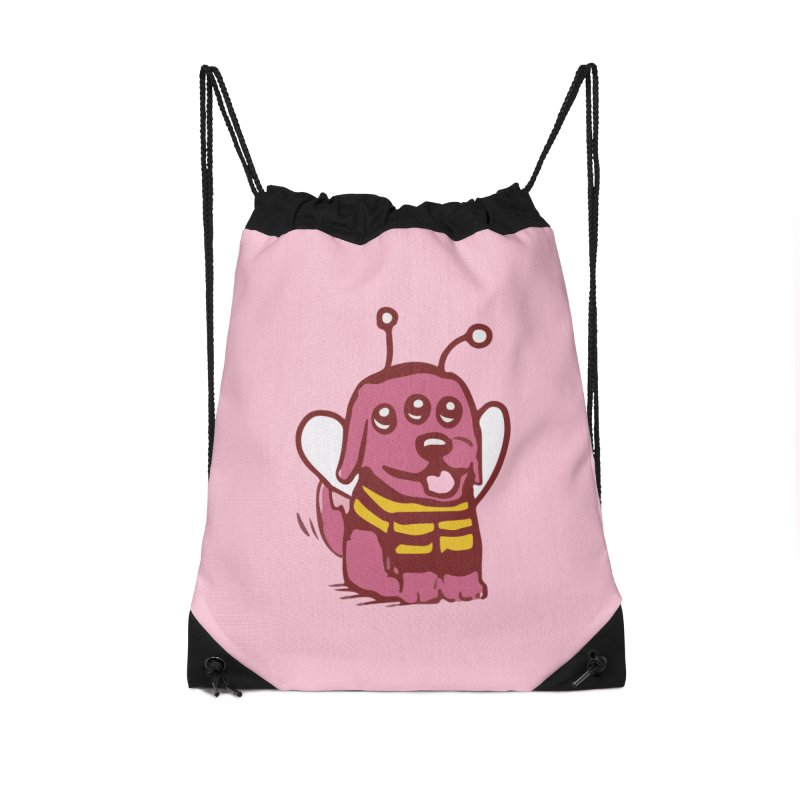 STRANGE PLANET SPECIAL PRODUCT:  OOOH DON'T STING ME Accessories Drawstring Bag Bag by Nathan W Pyle