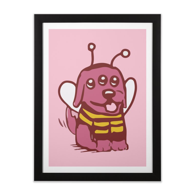 STRANGE PLANET SPECIAL PRODUCT:  OOOH DON'T STING ME Home Framed Fine Art Print by Nathan W Pyle