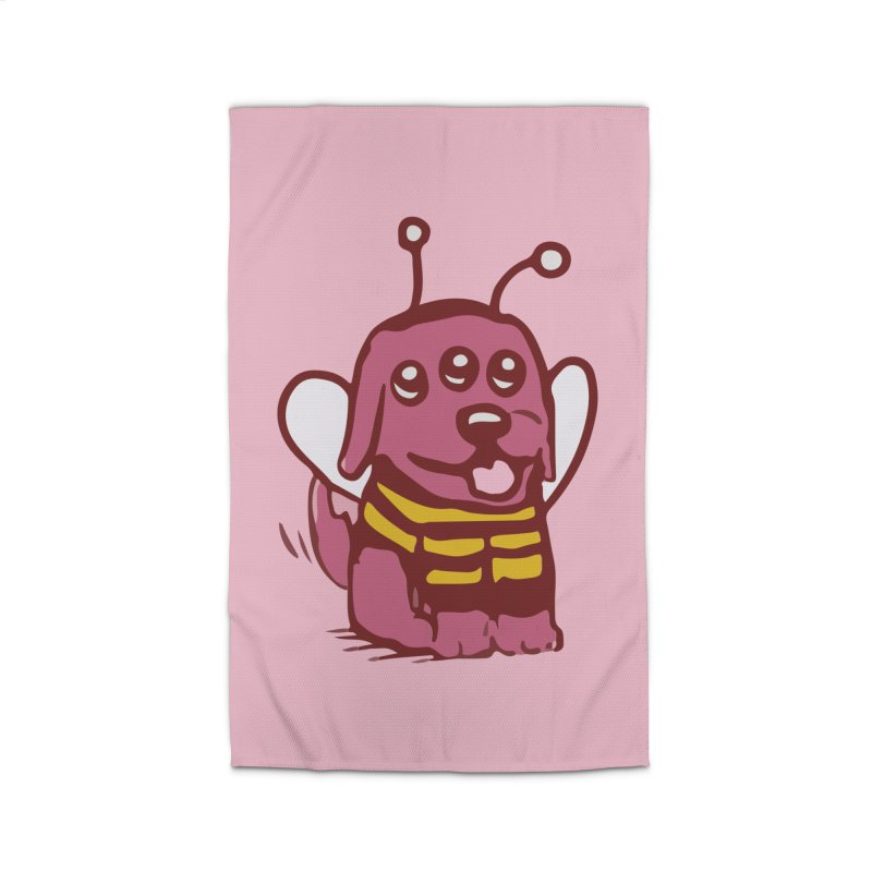STRANGE PLANET SPECIAL PRODUCT:  OOOH DON'T STING ME Home Rug by Nathan W Pyle
