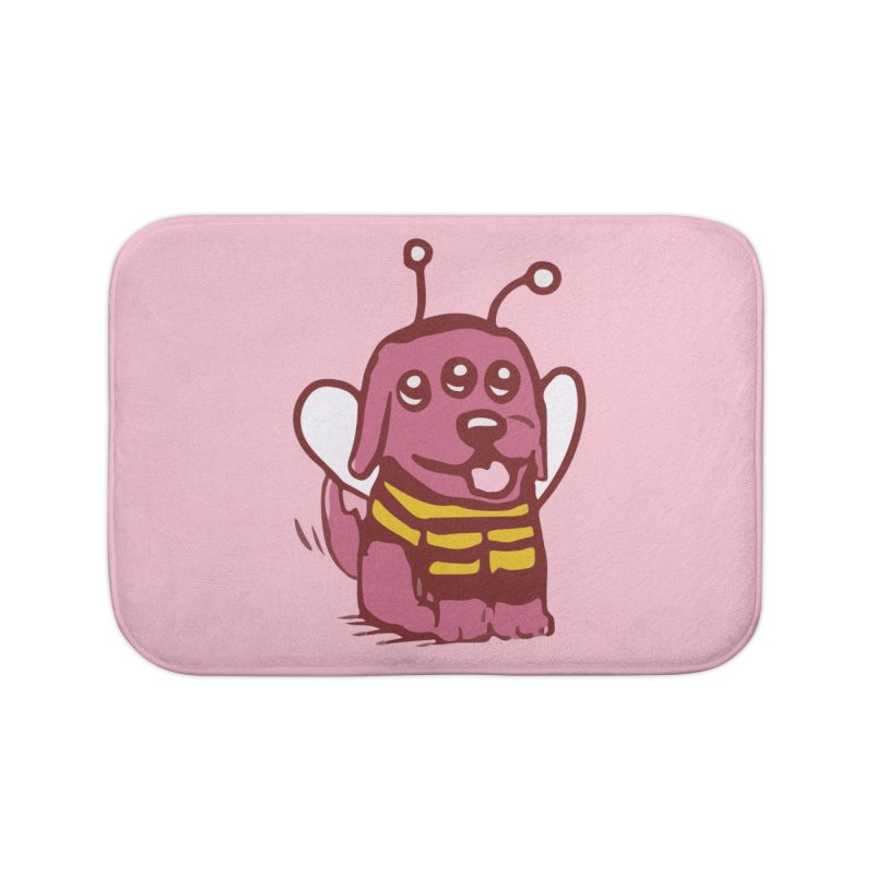 STRANGE PLANET SPECIAL PRODUCT:  OOOH DON'T STING ME Home Bath Mat by Nathan W Pyle