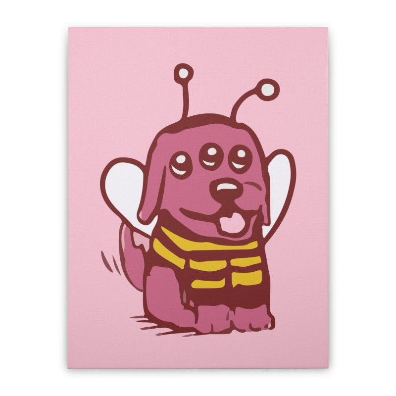STRANGE PLANET SPECIAL PRODUCT:  OOOH DON'T STING ME Home Stretched Canvas by Nathan W Pyle