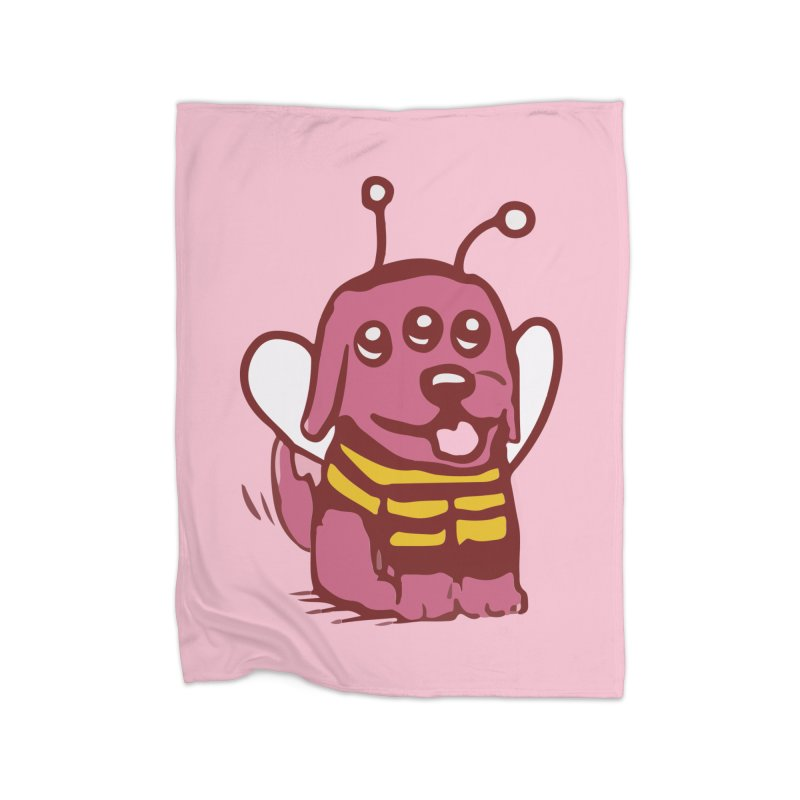 STRANGE PLANET SPECIAL PRODUCT:  OOOH DON'T STING ME Home Fleece Blanket Blanket by Nathan W Pyle