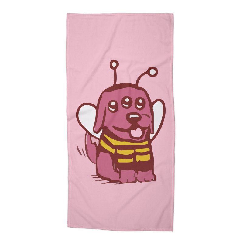 STRANGE PLANET SPECIAL PRODUCT:  OOOH DON'T STING ME Accessories Beach Towel by Nathan W Pyle