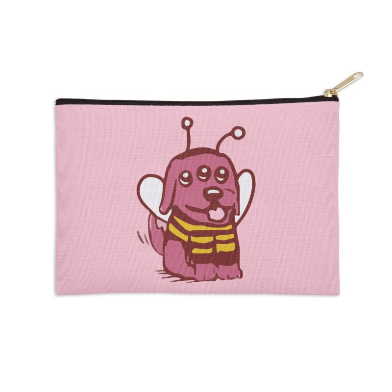 STRANGE PLANET SPECIAL PRODUCT:  OOOH DON'T STING ME Accessories Zip Pouch by Nathan W Pyle