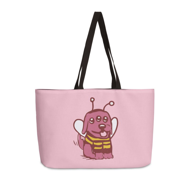 STRANGE PLANET SPECIAL PRODUCT:  OOOH DON'T STING ME Accessories Weekender Bag Bag by Nathan W Pyle