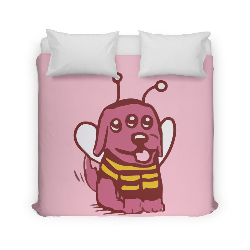 STRANGE PLANET SPECIAL PRODUCT:  OOOH DON'T STING ME Home Duvet by Nathan W Pyle