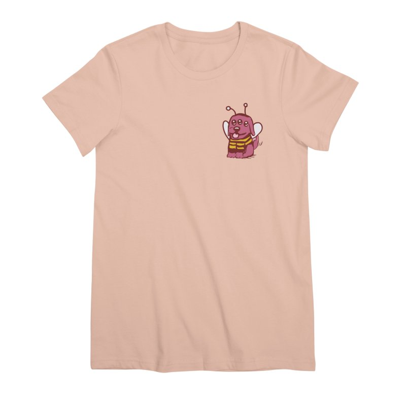 STRANGE PLANET SPECIAL PRODUCT:  OOOH DON'T STING ME Women's Premium T-Shirt by Nathan W Pyle