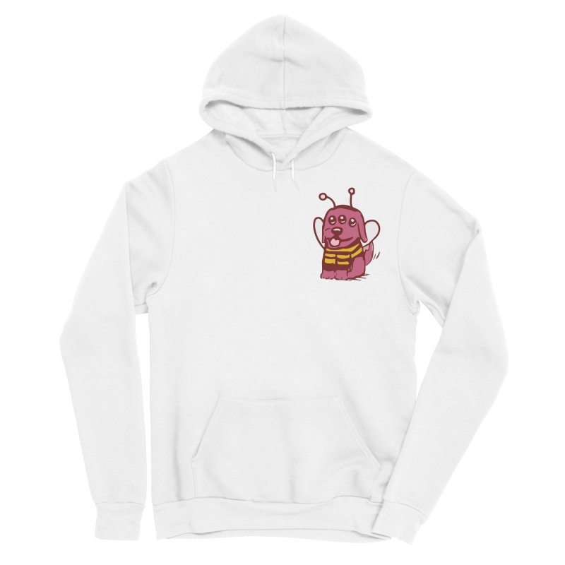 STRANGE PLANET SPECIAL PRODUCT:  OOOH DON'T STING ME Men's Sponge Fleece Pullover Hoody by Nathan W Pyle