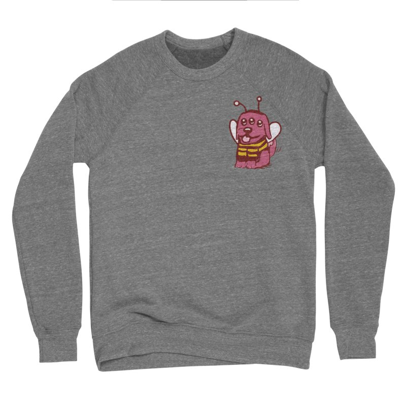 STRANGE PLANET SPECIAL PRODUCT:  OOOH DON'T STING ME Men's Sponge Fleece Sweatshirt by Nathan W Pyle