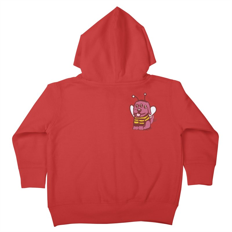 STRANGE PLANET SPECIAL PRODUCT:  OOOH DON'T STING ME Kids Toddler Zip-Up Hoody by Nathan W Pyle