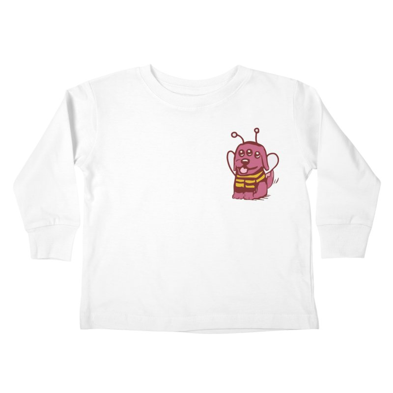 STRANGE PLANET SPECIAL PRODUCT:  OOOH DON'T STING ME Kids Toddler Longsleeve T-Shirt by Nathan W Pyle