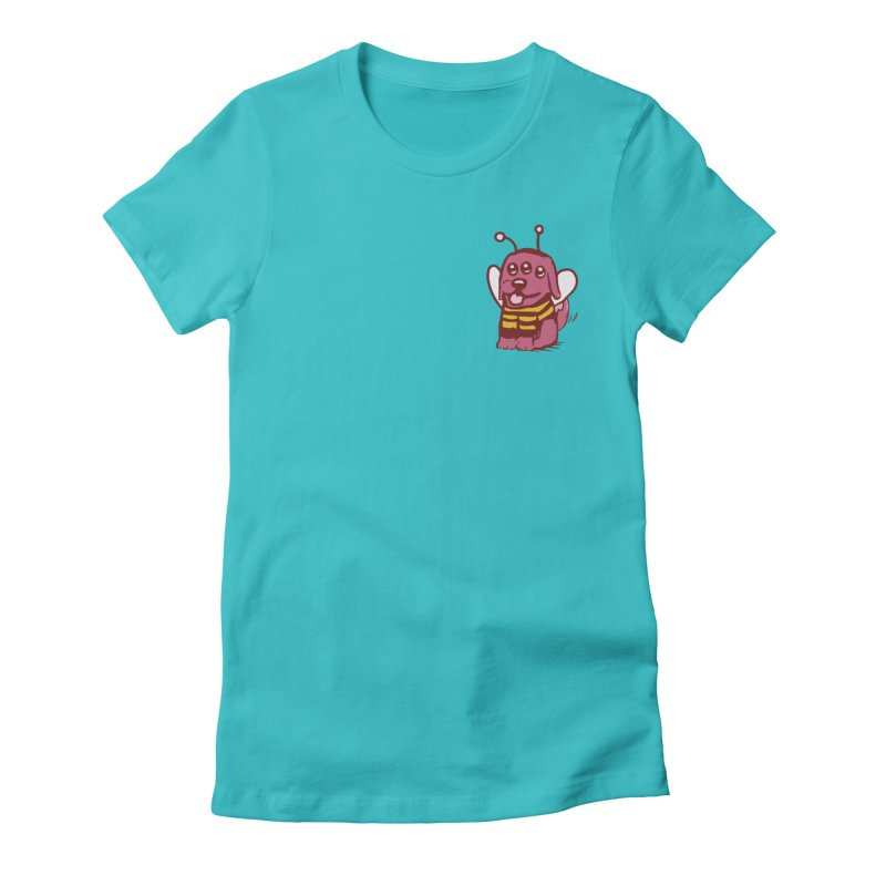 STRANGE PLANET SPECIAL PRODUCT:  OOOH DON'T STING ME Women's Fitted T-Shirt by Nathan W Pyle