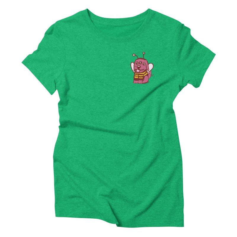STRANGE PLANET SPECIAL PRODUCT:  OOOH DON'T STING ME Women's Triblend T-Shirt by Nathan W Pyle