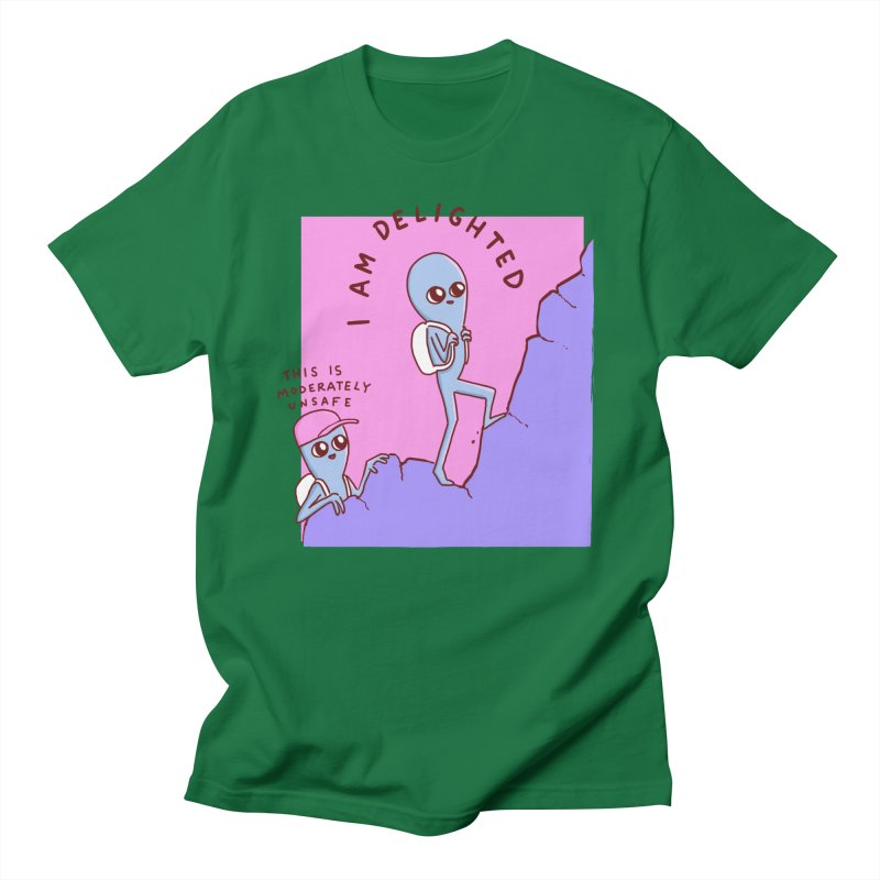 STRANGE PLANET SPECIAL PRODUCT: MODERATELY UNSAFE Men's T-Shirt by Nathan W Pyle Shop   Strange Planet Store   Thread