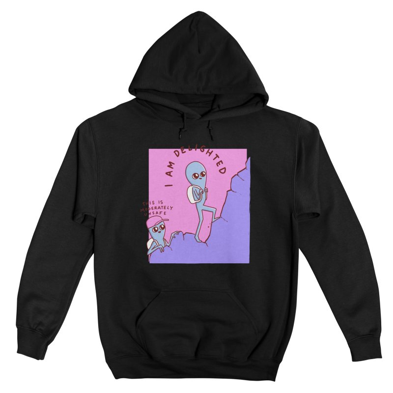 STRANGE PLANET SPECIAL PRODUCT: MODERATELY UNSAFE Men's Pullover Hoody by Nathan W Pyle Shop   Strange Planet Store   Thread