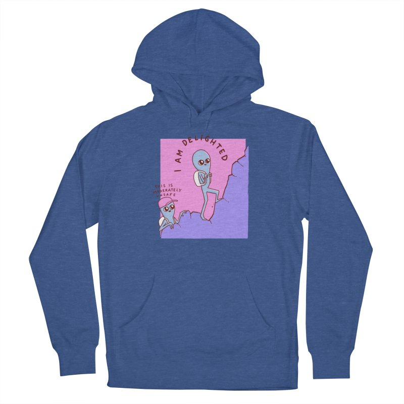 STRANGE PLANET SPECIAL PRODUCT: MODERATELY UNSAFE Men's Pullover Hoody by Nathan W Pyle