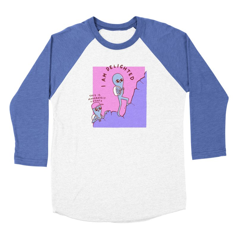 STRANGE PLANET SPECIAL PRODUCT: MODERATELY UNSAFE Women's Longsleeve T-Shirt by Nathan W Pyle