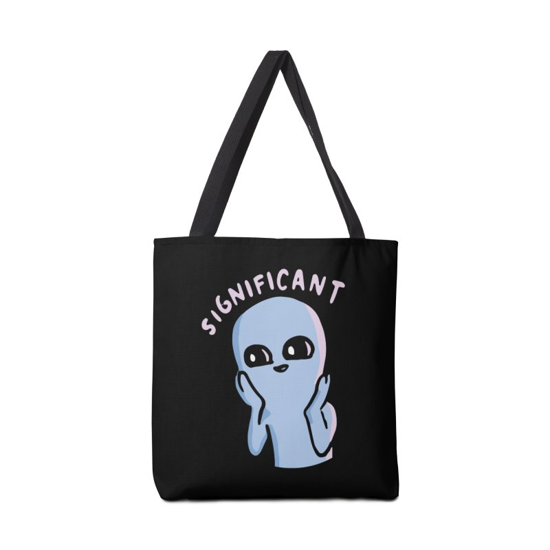 STRANGE PLANET SPECIAL PRODUCT: SIGNIFICANT Accessories Tote Bag Bag by Nathan W Pyle