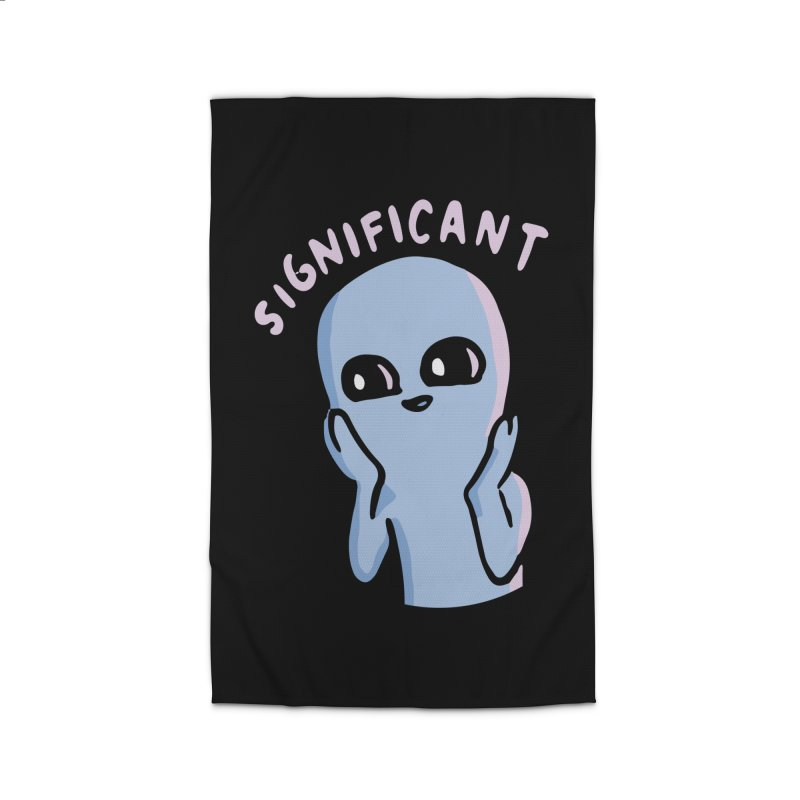 STRANGE PLANET SPECIAL PRODUCT: SIGNIFICANT Home Rug by Nathan W Pyle