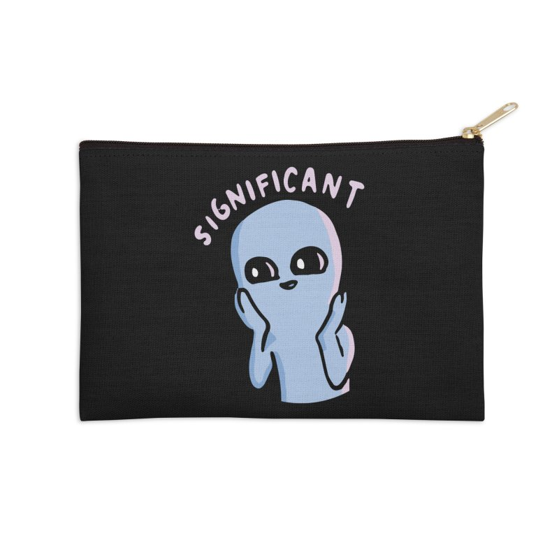STRANGE PLANET SPECIAL PRODUCT: SIGNIFICANT Accessories Zip Pouch by Nathan W Pyle