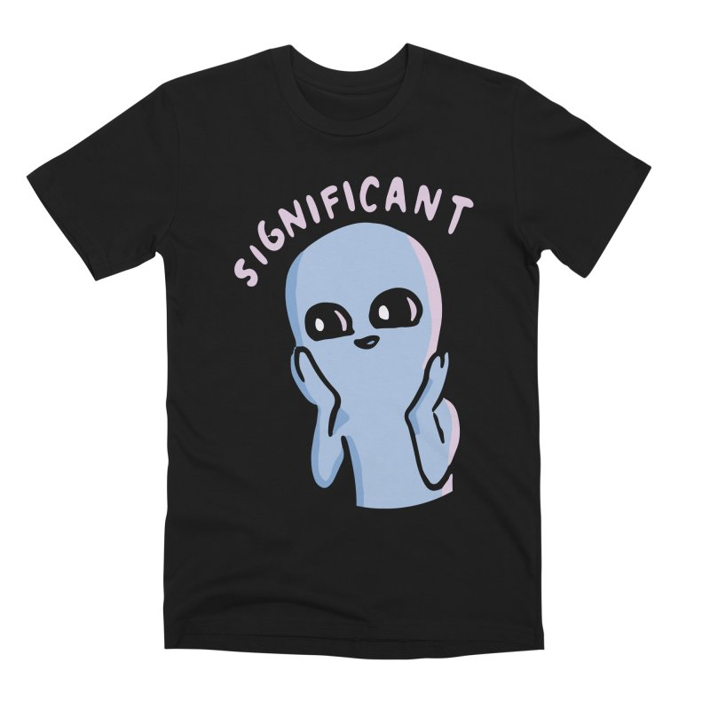 STRANGE PLANET SPECIAL PRODUCT: SIGNIFICANT Men's Premium T-Shirt by Nathan W Pyle