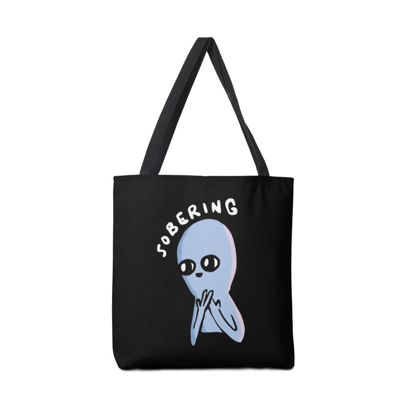 STRANGE PLANET SPECIAL PRODUCT: SOBERING Accessories Tote Bag Bag by Nathan W Pyle