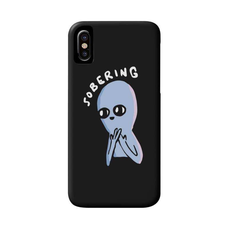 STRANGE PLANET SPECIAL PRODUCT: SOBERING Accessories Phone Case by Nathan W Pyle