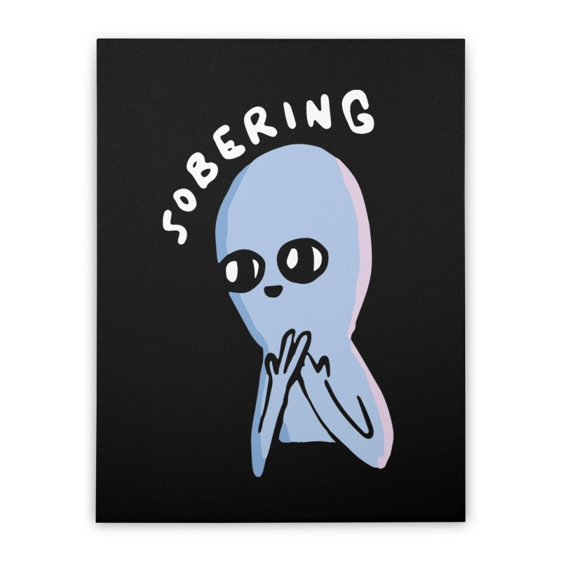 STRANGE PLANET SPECIAL PRODUCT: SOBERING Home Stretched Canvas by Nathan W Pyle