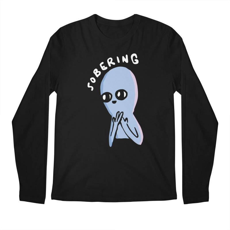 STRANGE PLANET SPECIAL PRODUCT: SOBERING Men's Regular Longsleeve T-Shirt by Nathan W Pyle