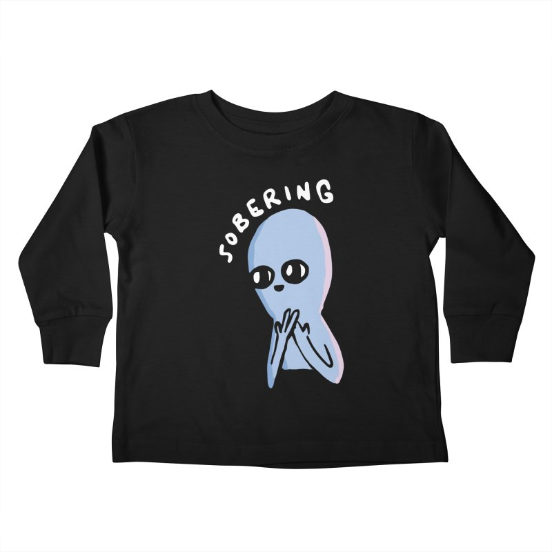 STRANGE PLANET SPECIAL PRODUCT: SOBERING Kids Toddler Longsleeve T-Shirt by Nathan W Pyle