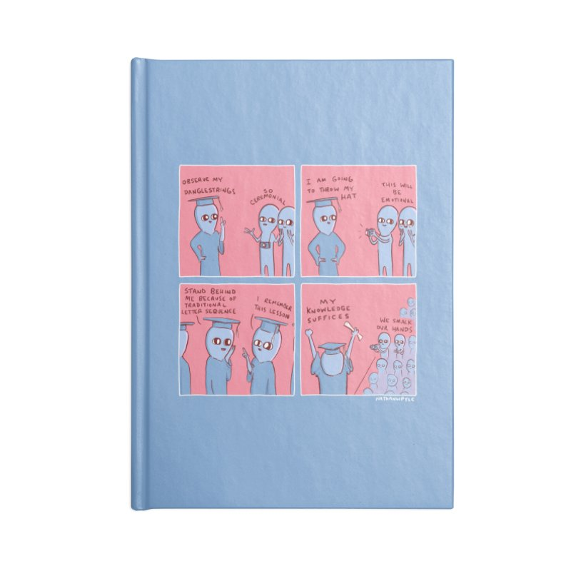 STRANGE PLANET: MY KNOWLEDGE SUFFICES Accessories Notebook by Nathan W Pyle