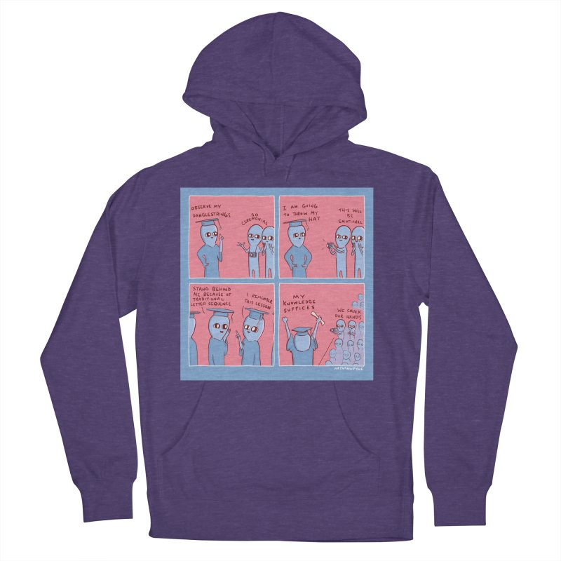 STRANGE PLANET: MY KNOWLEDGE SUFFICES Women's French Terry Pullover Hoody by Nathan W Pyle