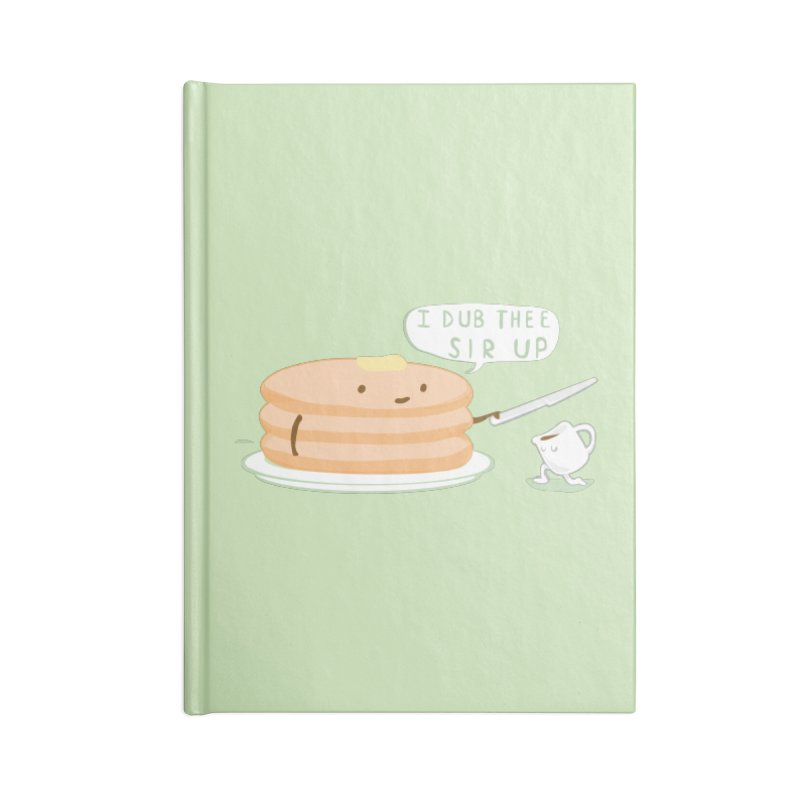 KNIGHT OF THE BREAKFAST TABLE! Accessories Notebook by Nathan W Pyle