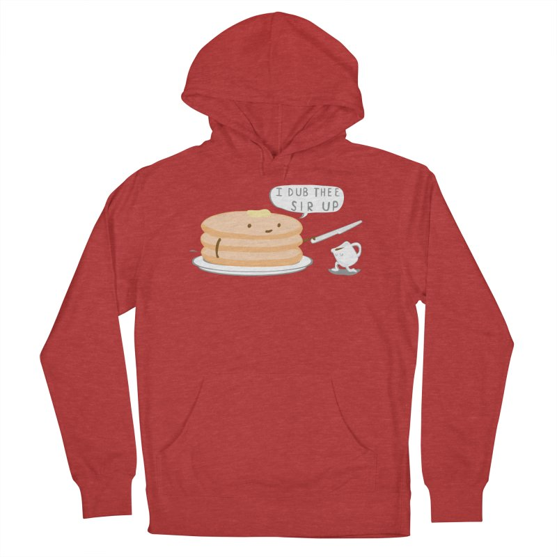 KNIGHT OF THE BREAKFAST TABLE! Women's French Terry Pullover Hoody by Nathan W Pyle