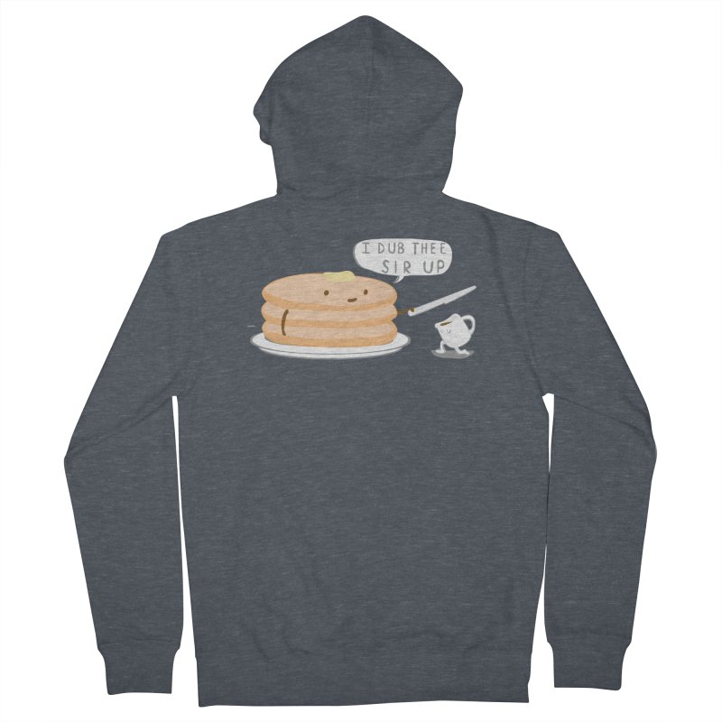 KNIGHT OF THE BREAKFAST TABLE! Women's French Terry Zip-Up Hoody by Nathan W Pyle