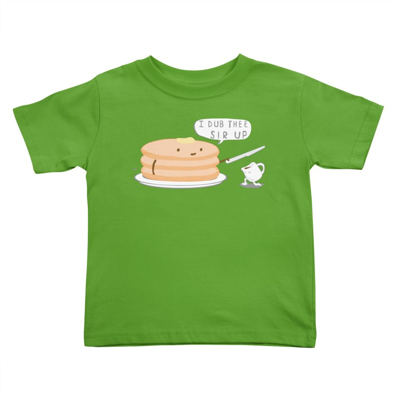 KNIGHT OF THE BREAKFAST TABLE! Kids Toddler T-Shirt by Nathan W Pyle