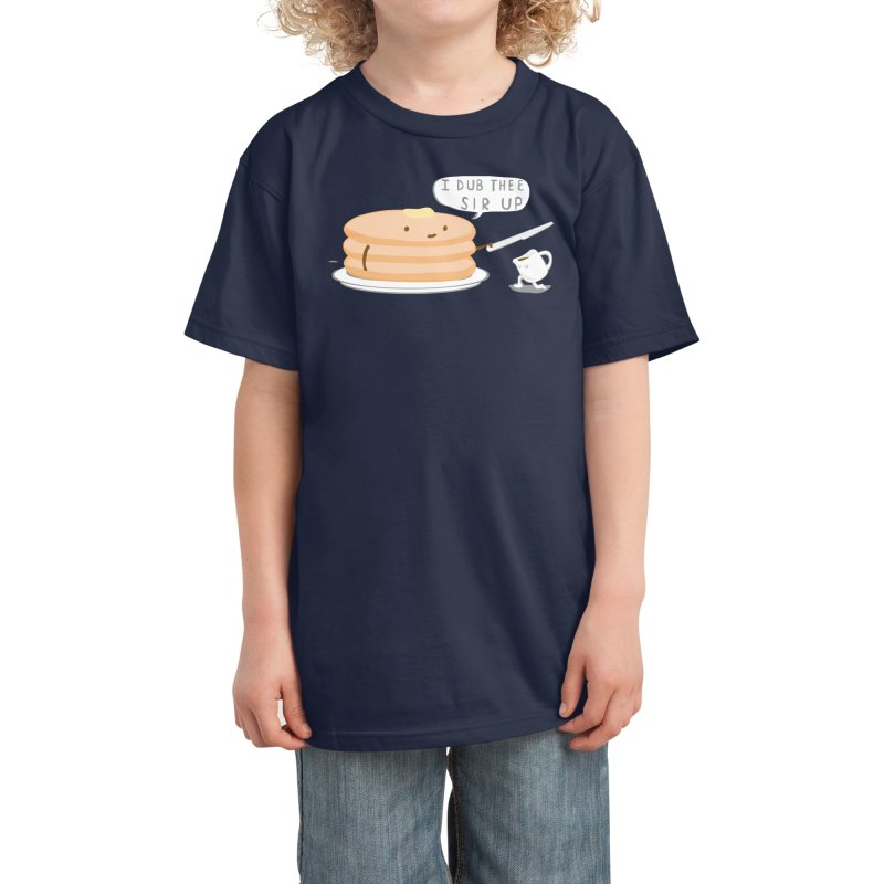 KNIGHT OF THE BREAKFAST TABLE! Kids T-Shirt by Nathan W Pyle