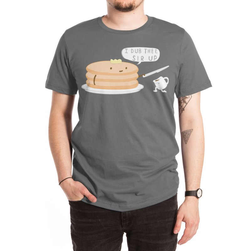 KNIGHT OF THE BREAKFAST TABLE! Men's T-Shirt by Nathan W Pyle Shop | Strange Planet Store | Thread