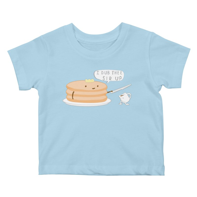 KNIGHT OF THE BREAKFAST TABLE! Kids Baby T-Shirt by Nathan W Pyle Shop | Strange Planet Store | Thread