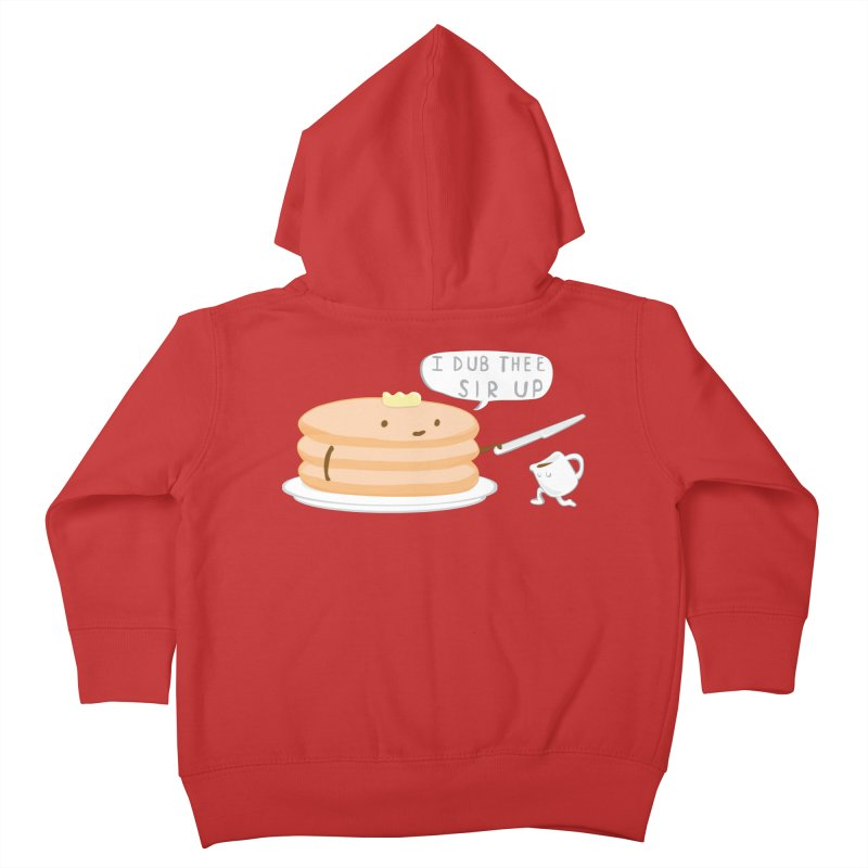 KNIGHT OF THE BREAKFAST TABLE! Kids Toddler Zip-Up Hoody by Nathan W Pyle Shop   Strange Planet Store   Thread