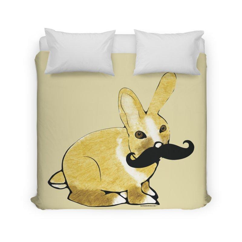 Countess Hare Pamela - Bunny Home Duvet by Natina Norton Designs