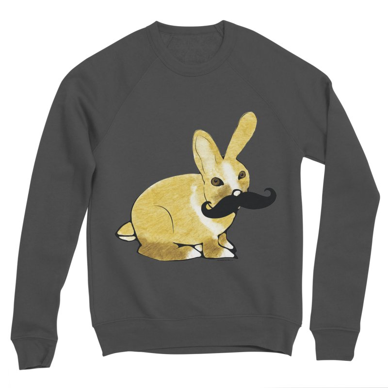 Cheeky Bunny Women's Sponge Fleece Sweatshirt by Natina Norton Designs