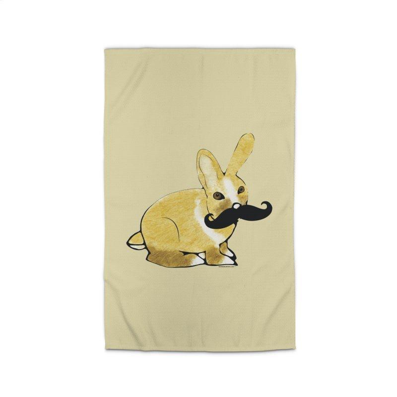 Countess Hare Pamela - Bunny Home Rug by Natina Norton Designs