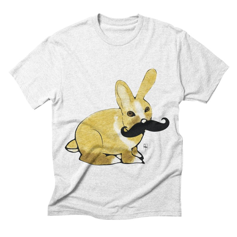 Countess Hare Pamela Men's Triblend T-shirt by Hardcore Hardwear & Design Shop