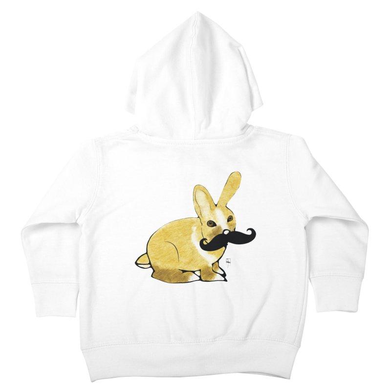 Countess Hare Pamela Kids Toddler Zip-Up Hoody by Hardcore Hardwear & Design Shop