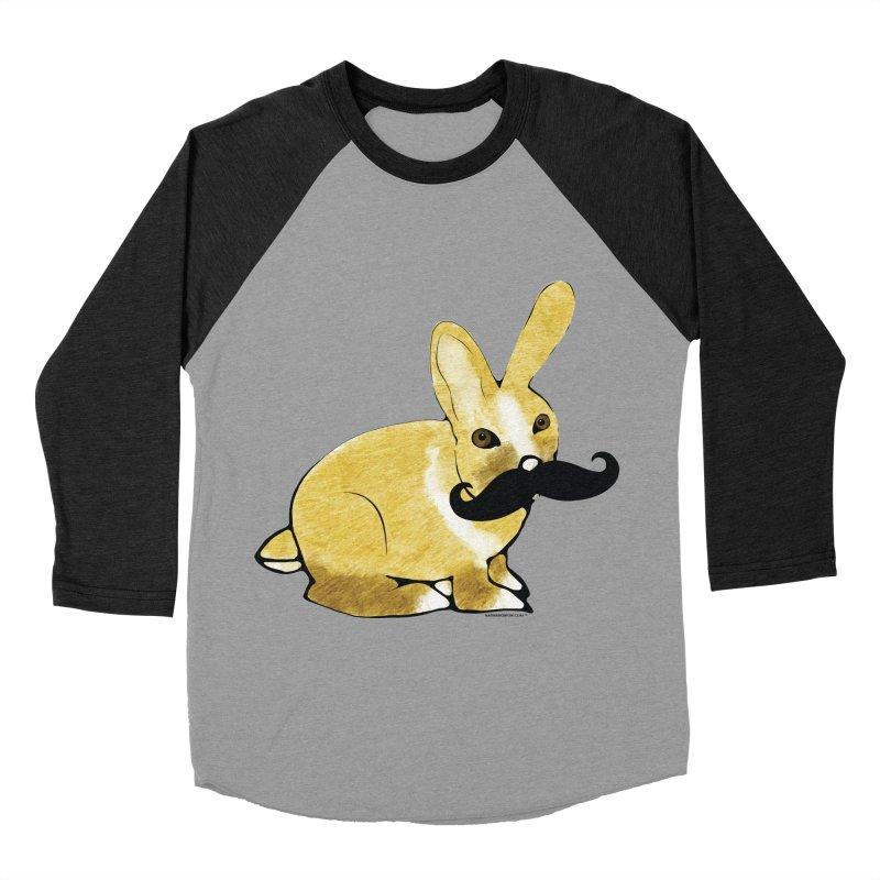 Countess Hare Pamela - Bunny Women's Baseball Triblend T-Shirt by Natina Norton Designs