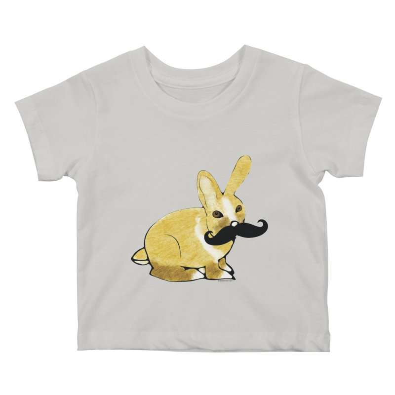 Countess Hare Pamela - Bunny Kids Baby T-Shirt by Natina Norton Designs