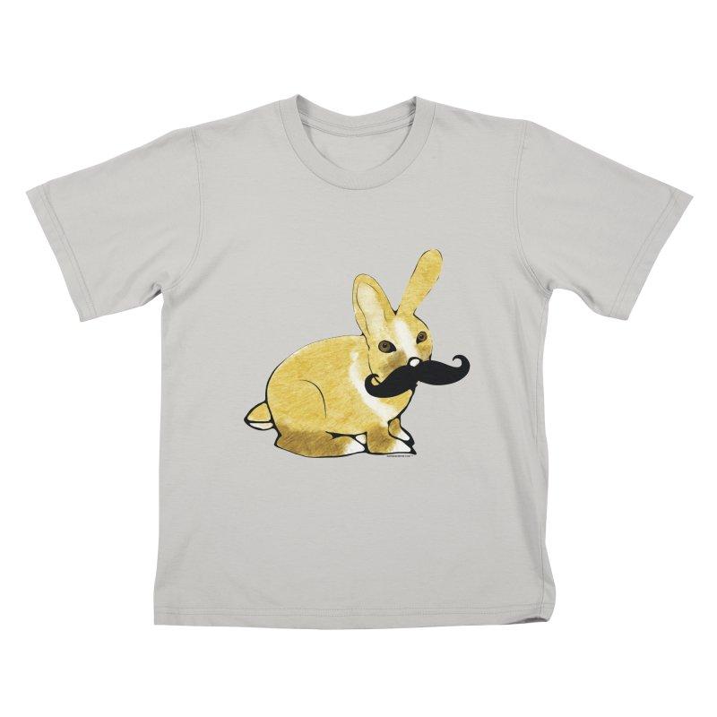 Countess Hare Pamela - Bunny Kids T-Shirt by Natina Norton Designs