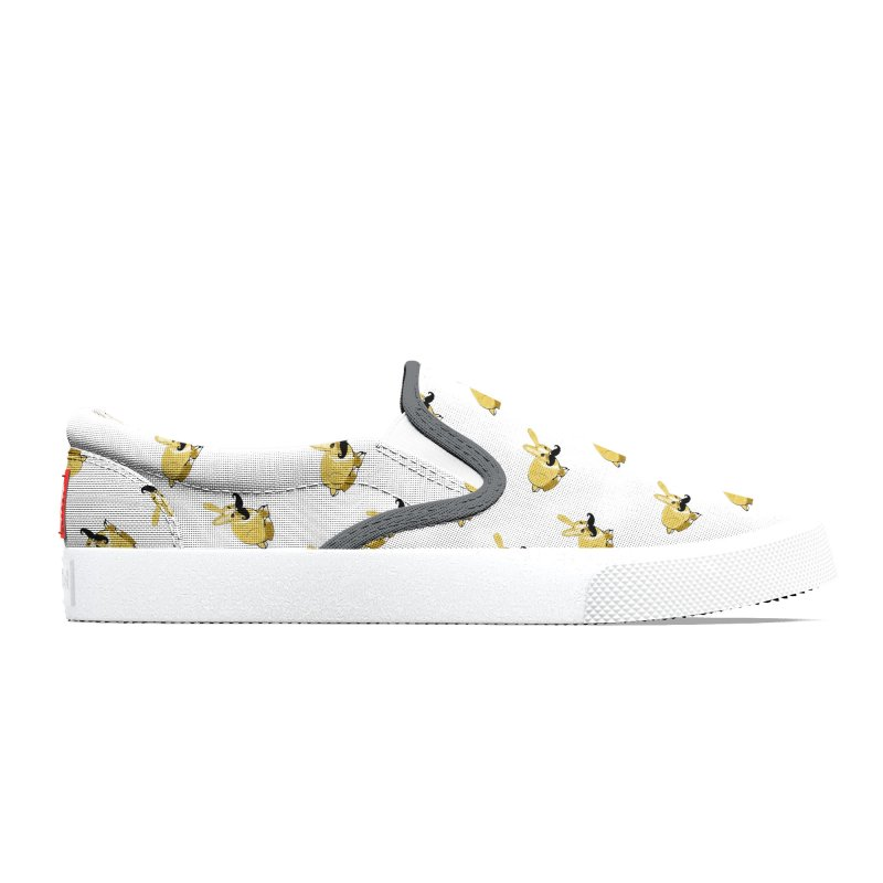Bunny Rabbit w/ Mustache - Countess Hare Pamela Men's Shoes by Natina Norton Designs