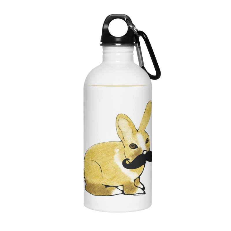 Countess Hare Pamela - Bunny Accessories Water Bottle by Natina Norton Designs
